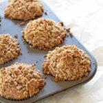 Hazelnut Coffee Muffins Stuffed with Nutella