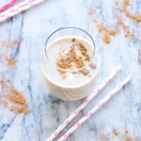 Snickerdoodle Smoothie | Recipe Runner | Healthy, delicious, and tastes just like the cookie! #vegan #drink