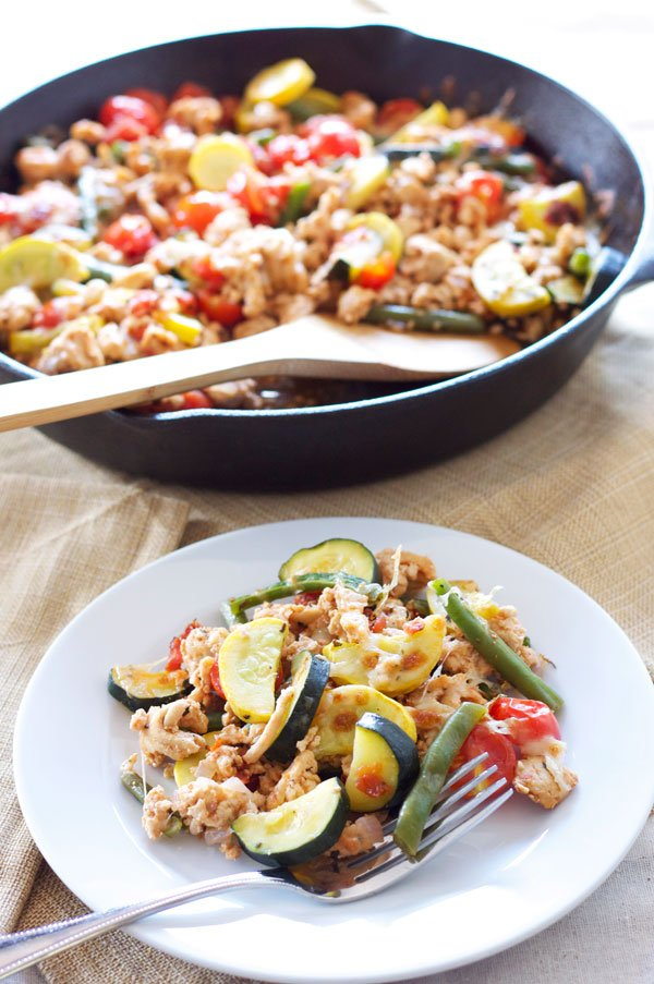 Turkey and Vegetable Skillet |Recipe Runner | My go to easy dinner ...