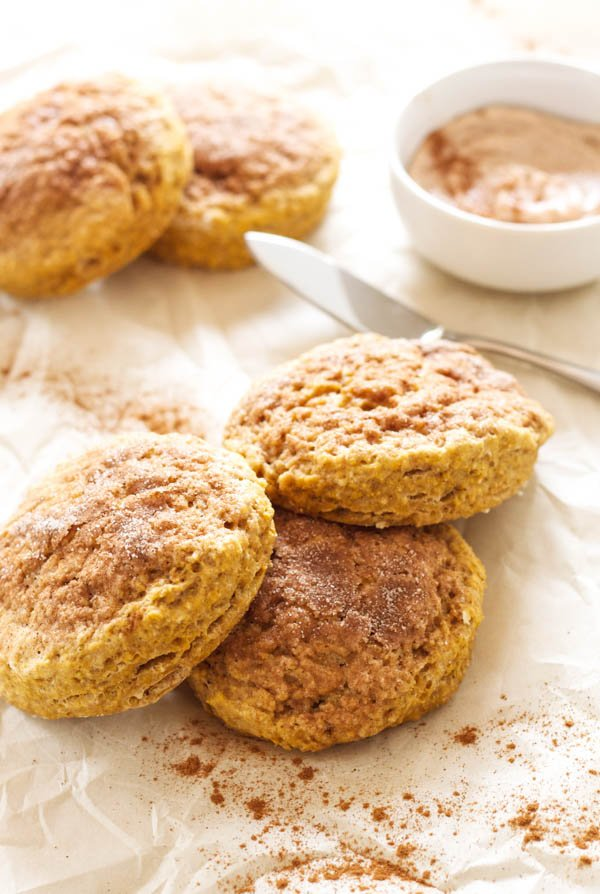 Tasty Kitchen Blog: Pumpkin Cinnamon Roll Scones. Guest post by Erica ...