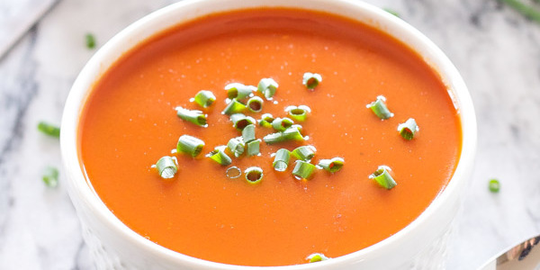 Tomato Balsamic Soup   Recipe Runner   Silky smooth tomato soup with the tart sweetness of balsamic vinegar!