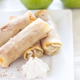 Baked Apple Pie Egg Rolls   Recipe Runner   A fun and easy to make alternative to apple pie!
