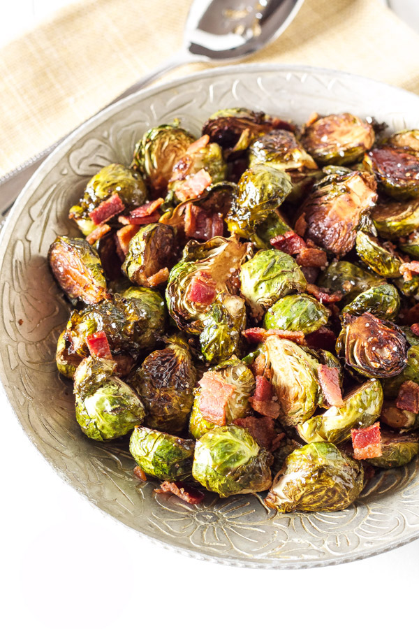 Maple Roasted Brussels Sprouts | Recipe Runner | Balsamic, maple ...