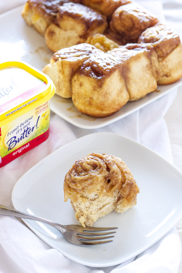 Caramel Sticky Buns | Recipe Runner | These lightened up gooey Caramel Sticky Buns are the perfect breakfast! #TimetoBelieve #CleverGirls