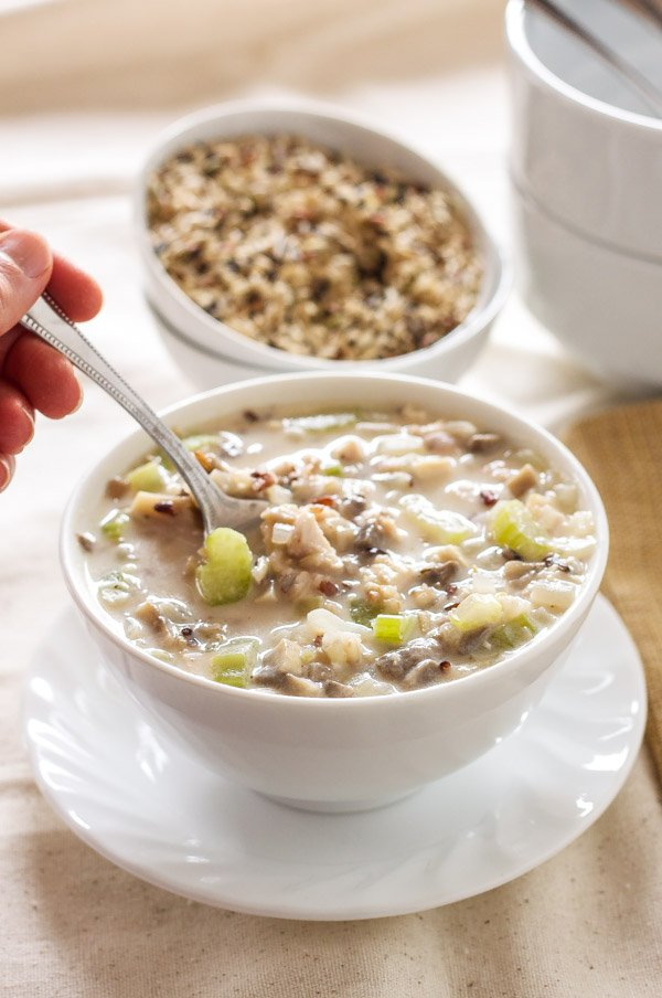 chicken and rice soup chicken shiitake and wild rice soup classic ...