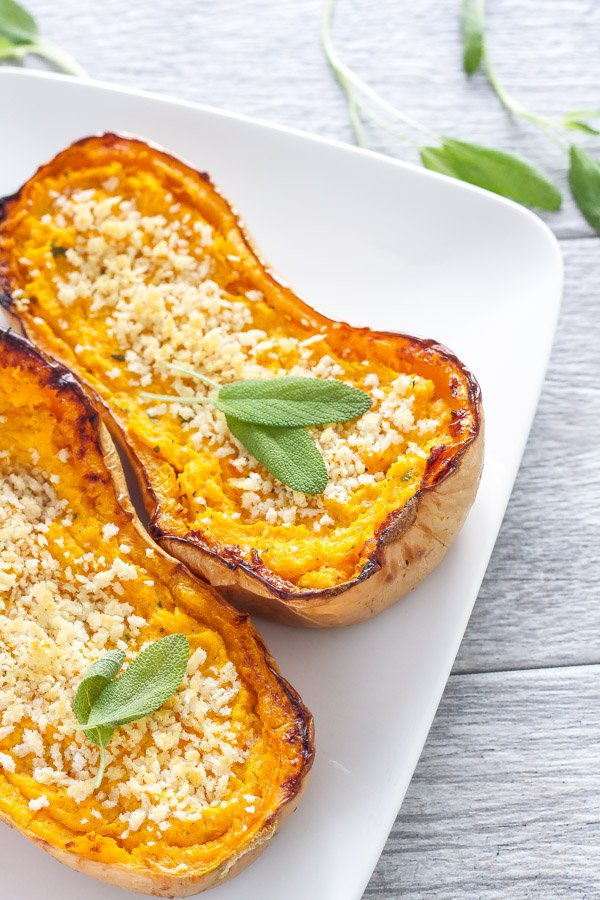 Garlic-Balsamic Grilled Butternut Recipe — Dishmaps