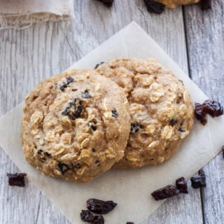 Prune Breakfast Cookies