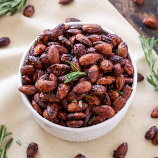 Rosemary and Chili Roasted Almonds