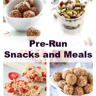 Pre-Run Snack and Meal Ideas