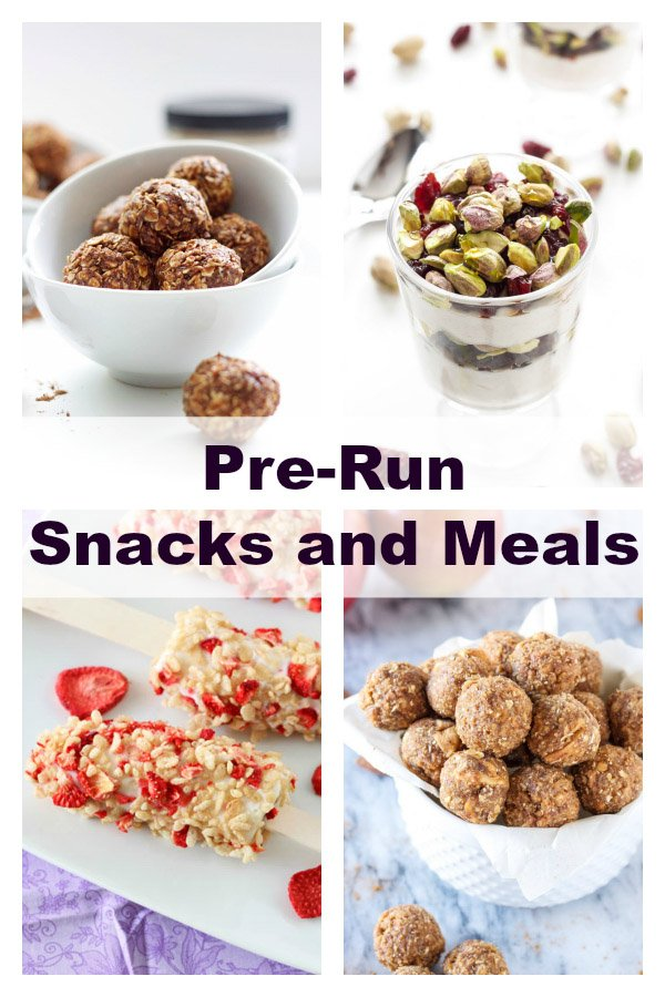 Pre Run Snack And Meal Ideas Recipe Runner