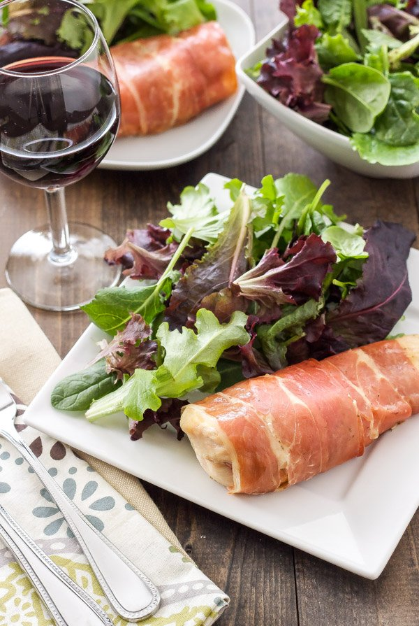 goat cheese stuffed chanterelles with goat cheese and prosciutto goat ...