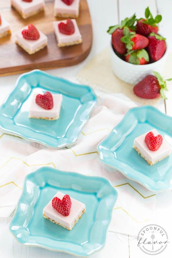 Strawberry Coconut Cream Bites