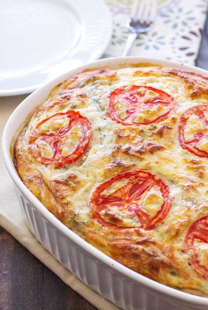 Crustless vegetable quiche recipe runner forumfinder Images