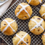 Hot Cross Buns | Buns spiced with cinnamon and full of currants are one of our Easter family traditions! via @reciperunner