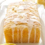 Lemon Yogurt Cake | This lemony cake is the perfect spring dessert!