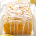 Lemon Yogurt Cake   This lemony cake is the perfect spring dessert!