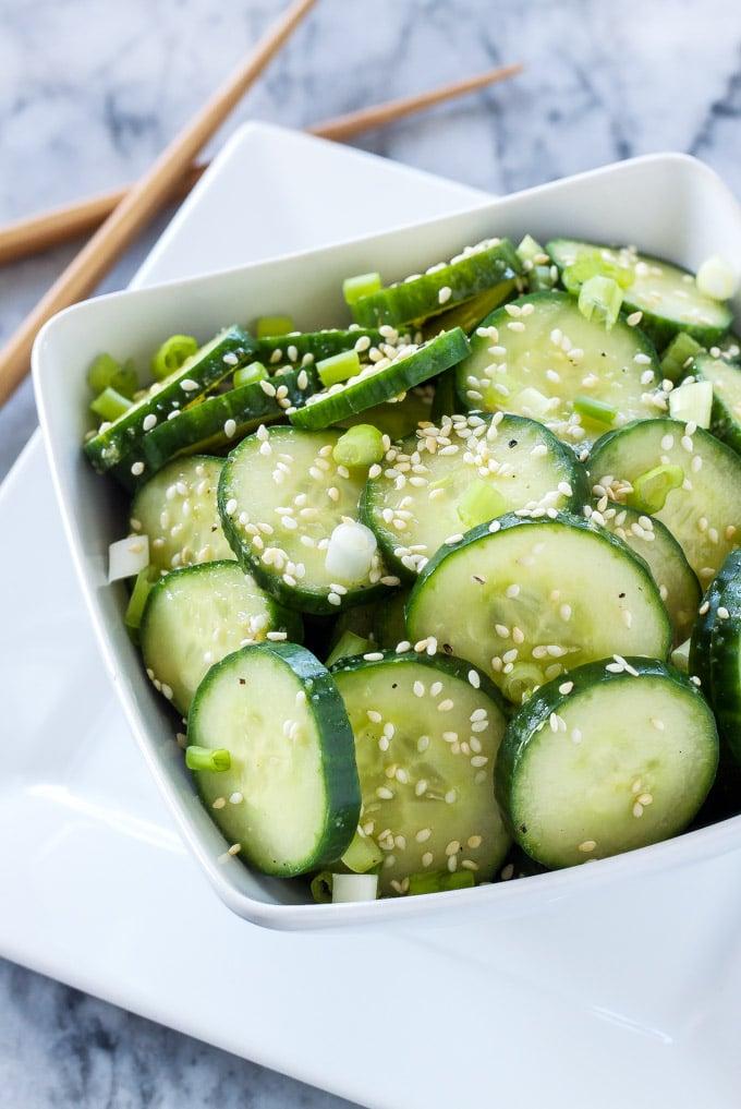 Asian Cucumber Salad Food Network