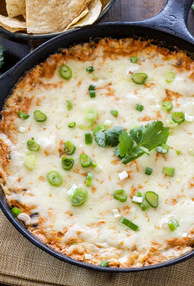Skinny Red Chile Enchilada Dip   Based on my most popular green chile enchilada dip! One word, AMAZING!   @reciperunner