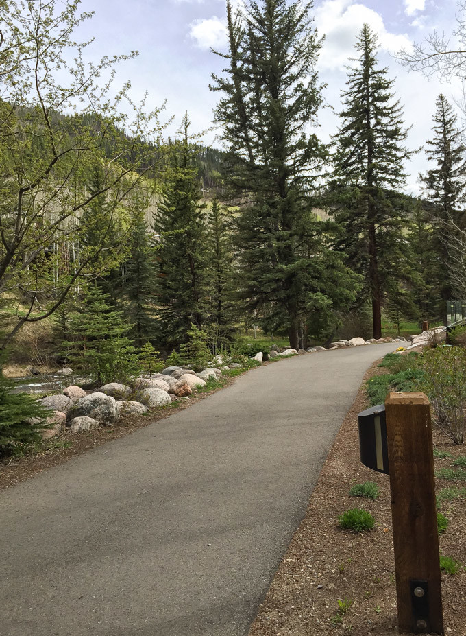 Vail Cascade Resort | Gore Creek Trail in Vail, Colorado