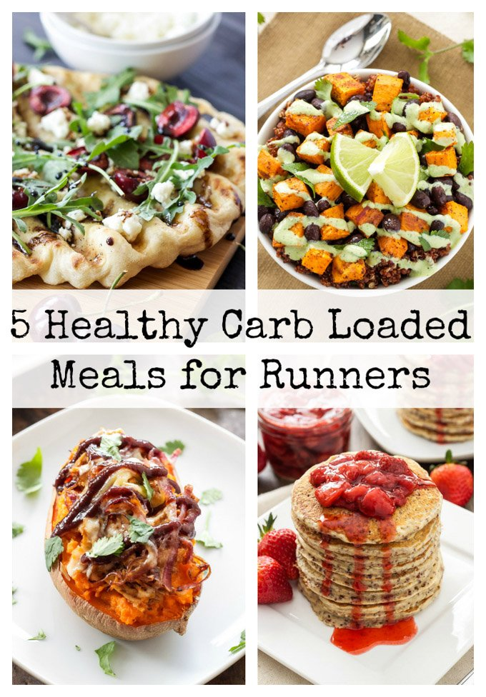 Healthy Carb Loaded Meals for Runners | Carb rich meals to power you ...