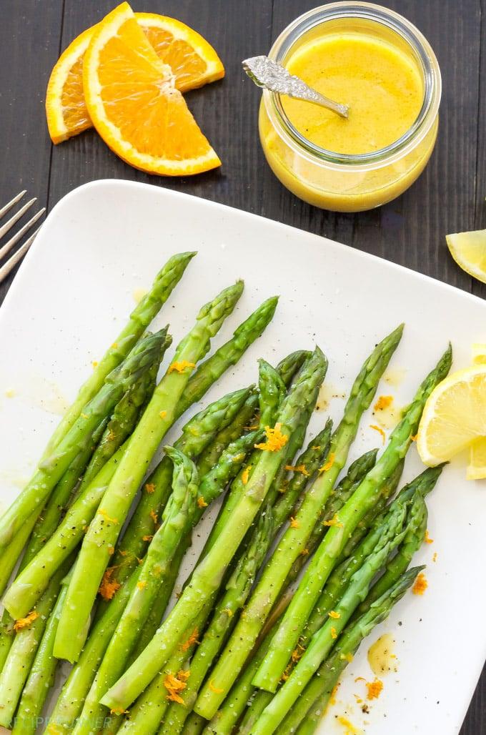 Chilled Asparagus with Citrus Vinaigrette | Crisp cold ...