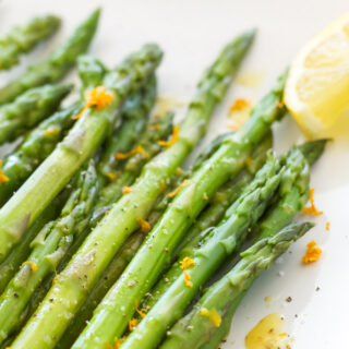 Chilled Asparagus with Citrus Vinaigrette