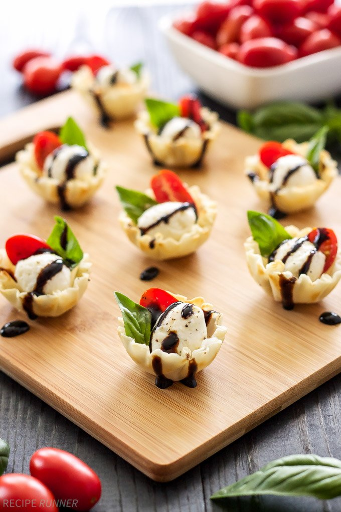 Mini Caprese Salads Recipes — Dishmaps