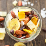 Tropical Trail Mix | Salty, sweet, and full of tropical flavors! The perfect snack for your next outdoor adventure!
