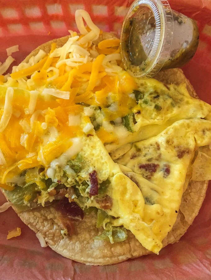 Austin, Texas: Favorite Places to Eat | Monk breakfast taco from Torchy's Tacos