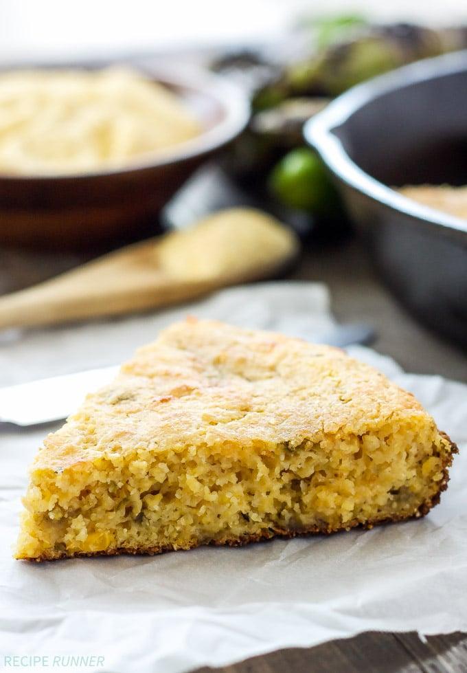 Skillet Cornbread Recipe With Green Chiles And Cinnamon ...