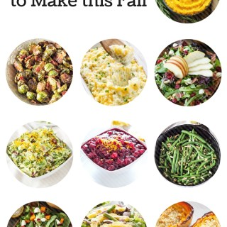 10 Side Dishes to Make this Fall + $500 PayPal Cash Giveaway