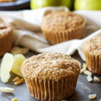 Pear Ginger Muffins