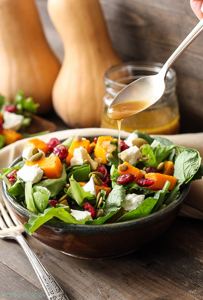 ... salad with cider vinaigrette and be amazed at the combination of