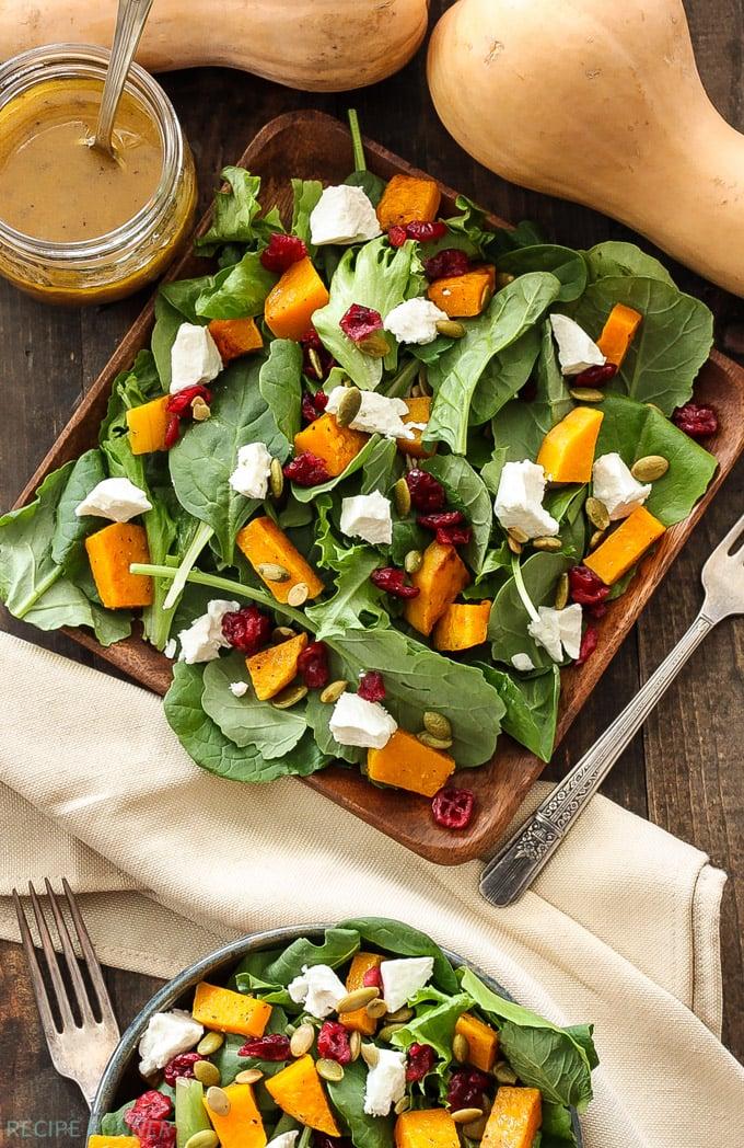Roasted Butternut Squash Salad with Cider Vinaigrette ...