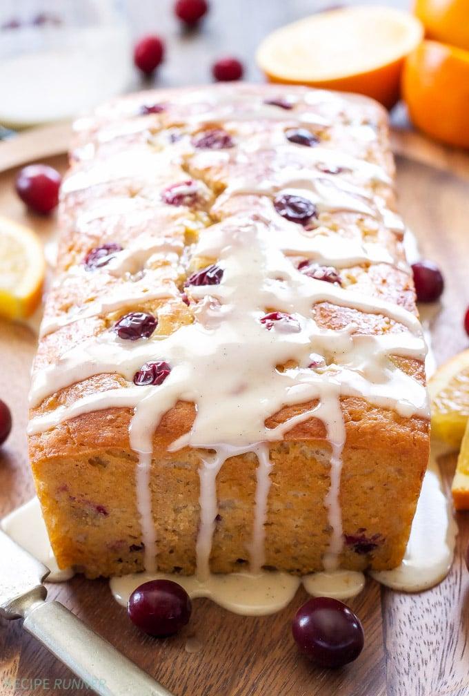 Cranberry orange yogurt cake recipe runner for Non fat cake recipes