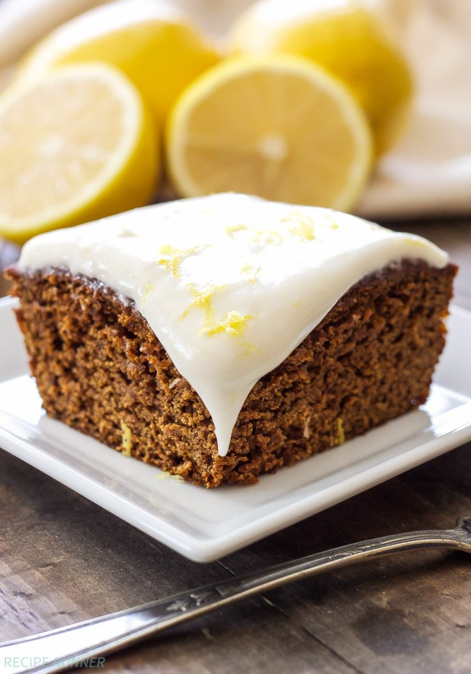Lemon Chocolate Chip Cake