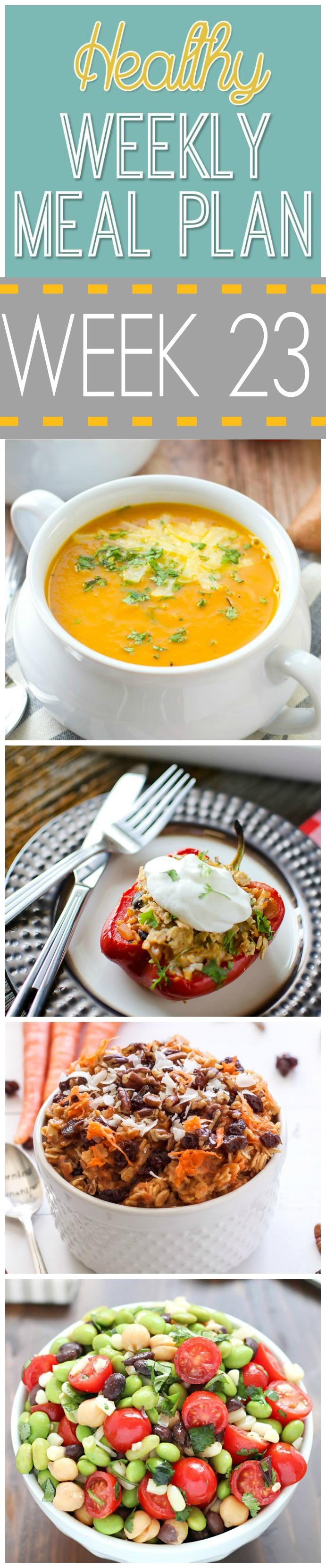 Healthy Meal Plan Week #23