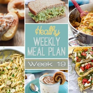 Healthy Weekly Meal Plan Week #19