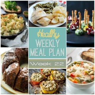 Healthy Weekly Meal Plan #22