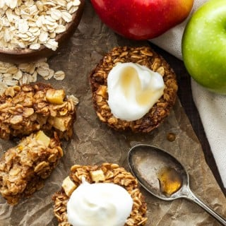 Baked Apple Cinnamon Oatmeal Cups