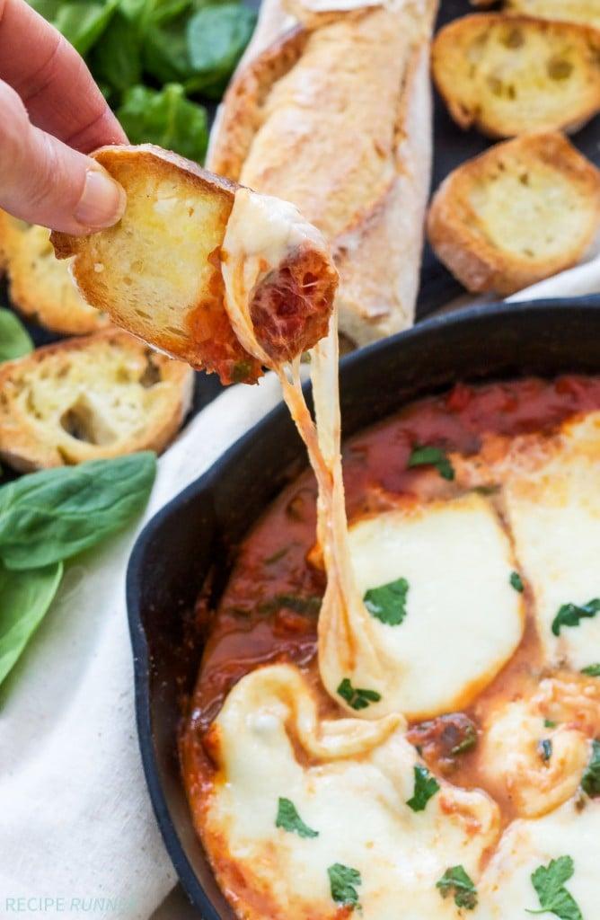 Baked Mozzarella and Marinara Dip - Recipe Runner