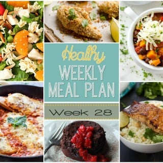 Healthy Weekly Meal Plan #28