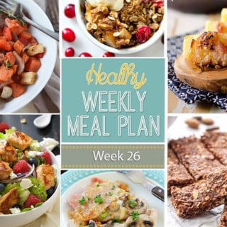 Healthy Weekly Meal Plan #26