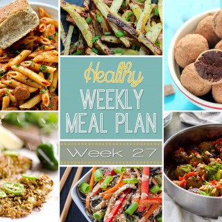 Healthy Weekly Meal Plan #27