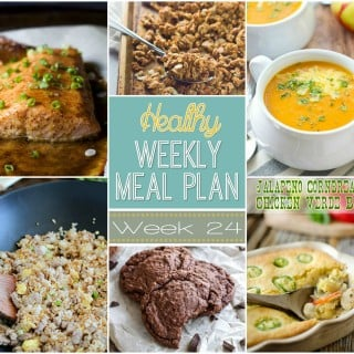 Healthy Weekly Meal Plan #24