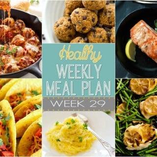 Healthy Weekly Meal Plan #29