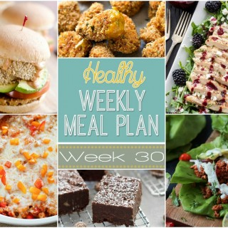 Healthy Weekly Meal Plan #30