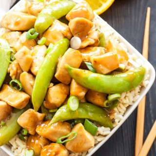 Healthier Orange Chicken