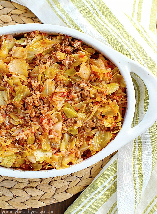 Beef Cabbage Roll Casserole