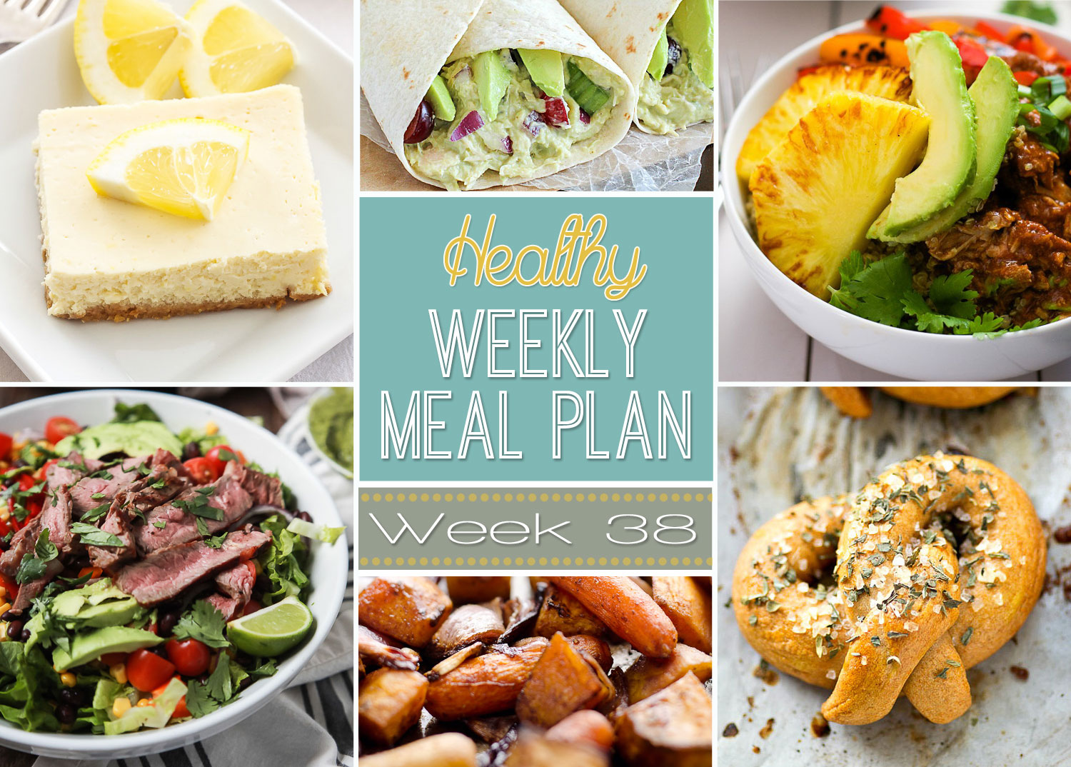 Healthy weekly meal plan 38 recipe runner forumfinder Image collections